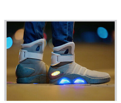 Sports Shoes Sneaker Lighting Mag Marty McFly Back to the Future Hip Hop NO Logo