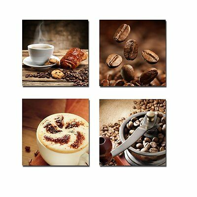 Modern Canvas Prints Painting Pic Wall Art Home Cafe Bar Decor Coffee Framed