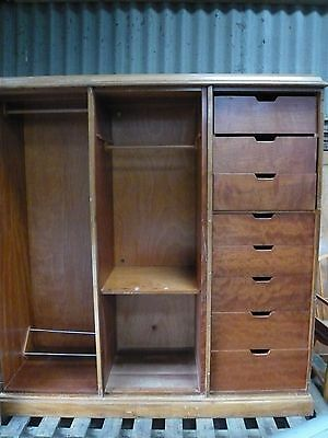 antique wardrobe large 6ft in sections