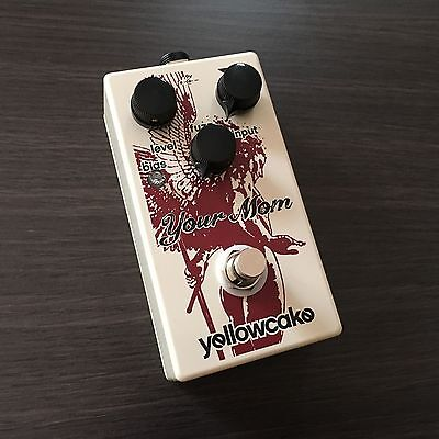 YELLOWCAKE PEDALS - Your Mom Hybrid Silicon/Germanium Fuzz Effects Pedal