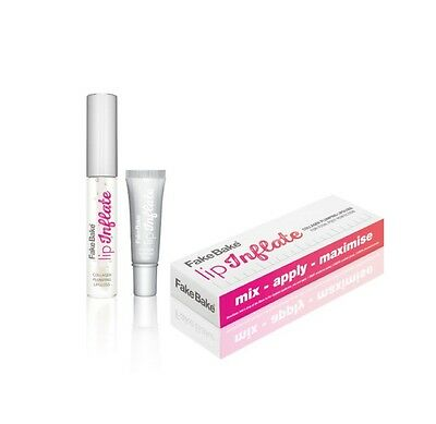Fake Bake Lip Inflate Collagen Plumping Lip Gloss LIMITED EDITION