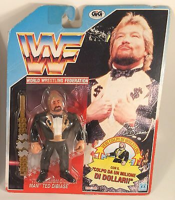 Ted Dibiase WWF MOC Wrestling action figure WRESTLER hasbro WWE LJN NEW sealed