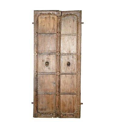 Silkroute DO1266 Wooden Door w/Frame