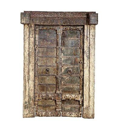 Silkroute DO341 Wooden Door with Frame