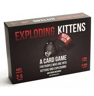 Exploding Kittens Original Edition Fun Party Card Game FREE delivery Christmas B