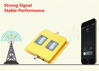 3/4G LTE Verizon AT&T Dual band 850/2100Mhz Cell Phone Signal Booster Amplifier