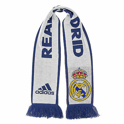 Adidas Soccer Accessories S94891 Real Madrid Home Scarf Los Blancos Football New