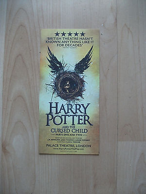 **Harry Potter and the Cursed Child Flyer at Palace Theatre London**