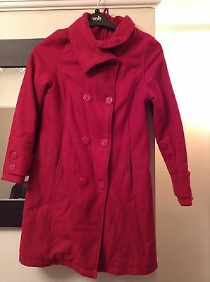 TED BAKER - Pink Ted Baker Coat - Age 14 - TED BAKER - USED