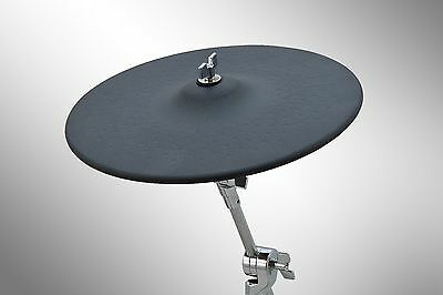 """13 inch Electronic Cymbal Pad / 3 Zone 13"""" eCymbal Pad with Accessories"""