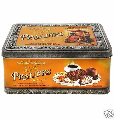Maitre Truffout Pralines Vintage Style 220g - Product of German