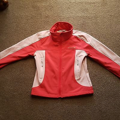 Girls Regatta Soft Shell Jacket -  Age 11-12 years - Water resistent/Windproof