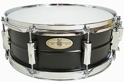 Pearl Sensitone Stahl Snare 14x5,5'' - Limited Edition - Black