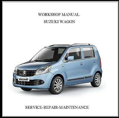 New Suzuki Wagon (R+) Rb310 Rb413 Rb413D Workshop Service Manual