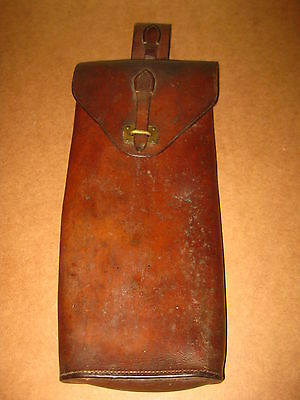 Ww1 Portugal Portuguese Cep 1916 Cavalry Map Documents Leather Big Pouch Bag