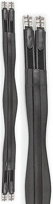 NEW Shires Atherstone Leather Girth Elasticated Both Ends Cushioned - All Sizes