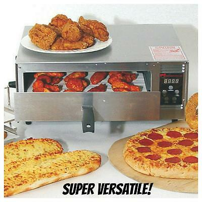 """Wisco Industries Commercial Pizza Oven With Digital Controls 425C 12"""" Pizza Easy"""