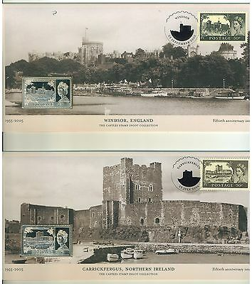 Gb Royal Limited Edition  Covers Of Castles Stamp Ingot Collection