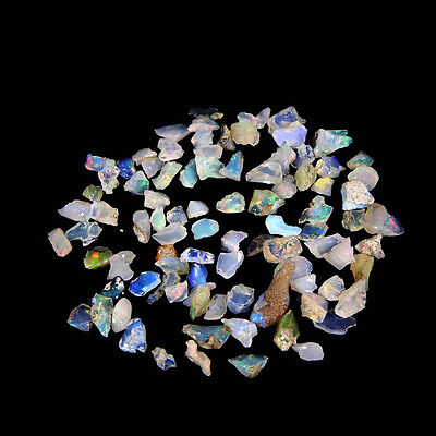 13.35Cts 100% NATURAL WONDERFUL TINY SMALL CHIPS ETHIOPIAN OPAL ROUGH LOT GEM
