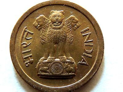 1964 India One (1) Paisa Coin Lot B