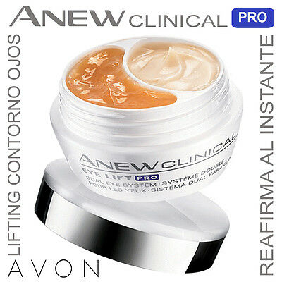 AVON Crema Contorno Ojos Dual ANEW CLINICAL INFINITE LIFT Nuevo New
