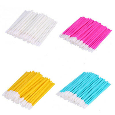 Disposable Lip Gloss Wands Brush Eye Shadow Applicator Lipstick Spooler Brushes