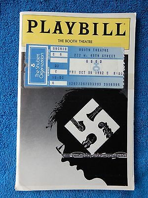 Good - Booth Theatre Playbill w/Ticket - October 8th, 1982 - Alan Howard