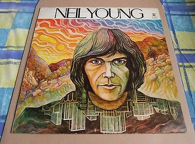 Neil Young - S/T. Vinyl LP, Uk stereo issue / Reprise label. 70s reissue.