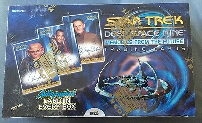 Star Trek DS9 Memories from the Future sealed box Rare Skybox