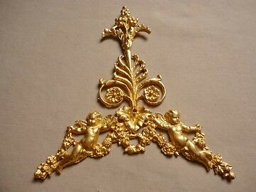 Neoclassical Gods Angel Cherbs Furniture Decoration Ormolu Renaissance Ornament