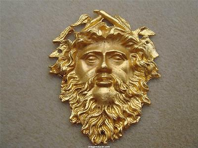 Ormolu French Neoclassical Furniture Art Face Man