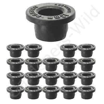 GROMMET 13mm x20 Take Off TANK CONNECTOR Top Hat pipe irrigation fitting ANTELCO