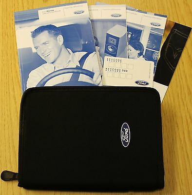 FORD FOCUS Mk2 HANDBOOK OWNERS MANUAL 2008-2011 FACELIFT + SERVICE BOOK 2009/10