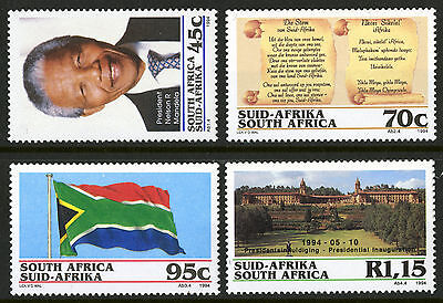 South Africa  1994  Scott #882-885  Mint Never Hinged Set