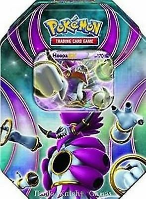 Pokemon Cards Lot 2016 Best Of EX  Tin HOOPA EX - BRAND NEW