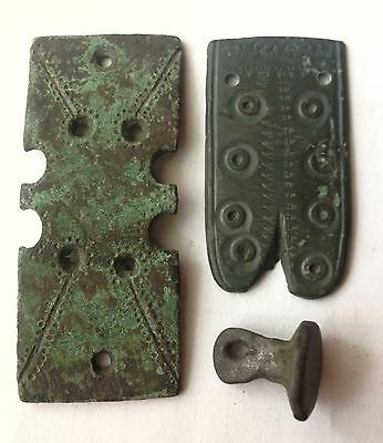 ancient ornamental northern Scandinavia Viking Germanic tribes 2-4 AD amulet