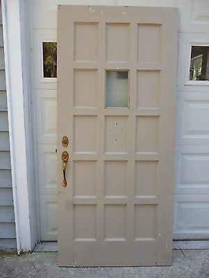 Antique 1920's Door