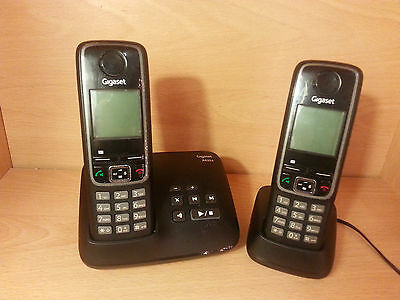Gigaset A420A Twin DECT Cordless Phone with Answer Machine