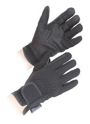 NEW Shires Adults All Weather Horse Riding Gloves, Water Resistant & Super Grip