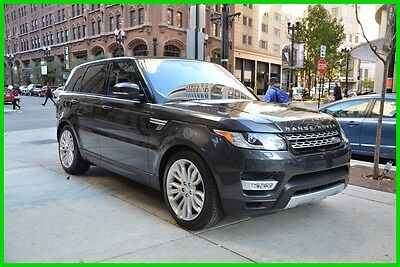 2016 Land Rover Range Rover Sport 16' sport supercharged low miles rudy@7734073227 2016 5.0L V8 Supercharged New 5L V8 32V Automatic 4WD SUV Premium Moonroof