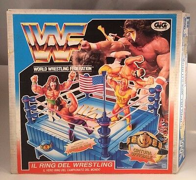 RING WWF MIB Wrestling action figure WRESTLER hasbro WWE LJN NEW 80's