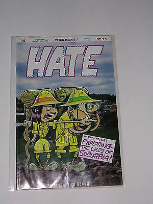 HATE #6 Underground Comix by FANTAGRAPHICS