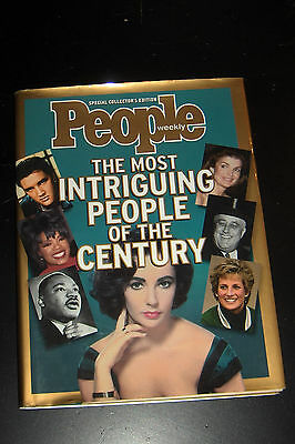 People Special Collector's Most Intriging People of the Century Hardcover Book