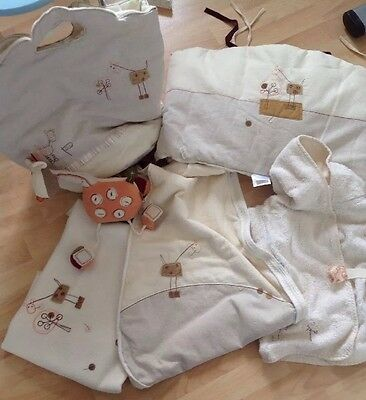 Nursery Set With Musical  Cot Mobile, Mamas And Papas