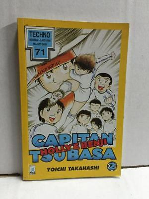 Fumetto Manga Star Comics Techno CAPITAN TSUBASA Holly e Benji N. 2 Marzo 2000