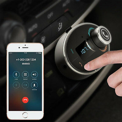 Bluetooth FM Transmitter Car Kit Radio Receiver MP3 Player Charger Handsfree