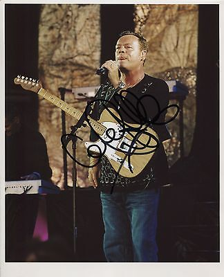 Ali Campbell UB40 Signed 8 x 10 Photo Genuine In Person