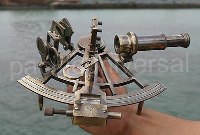"""Vintage Marine Working Sextant 8"""" Reproduction Collectible Decor Christmas Gift."""