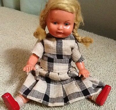 Celluloid German Doll #16