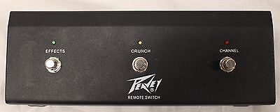 Peavey 6505 Plus Remote Footswitch Pedal Effects / Crunch / Channel Foot Switch